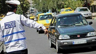 تصویر محدودیت های ترافیکی شهر اهواز اعلام شد