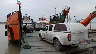 تصویر انتقال خودروی گردشگران به جزایر قشم و کیش ممنوع شد
