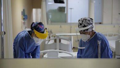 تصویر بستری ۲۰ بیمار در بخش مراقبت ویژه/۱۵ درصد نمونه های کرونا مثبت شد
