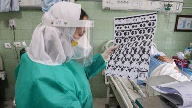 تصویر بستری ۲۴ بیمار جدید مبتلا به کرونا در اردبیل