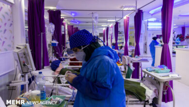 تصویر بستری ۸۰ بیمار در بخشهای کرونایی استان بوشهر/ ثبت روز بدون فوتی