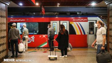 تصویر تبدیل مترو به شهر زیر زمینی با استفاده از هوش مصنوعی