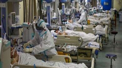 تصویر فوت ۱۴ بیمار کرونایی در مازندران