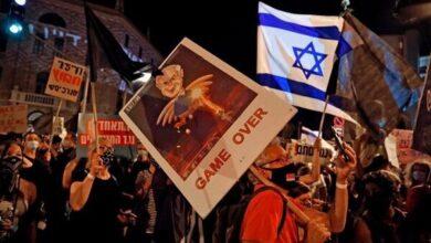 تصویر نتانیاهو با کمک کرونا از محکمه گریخت