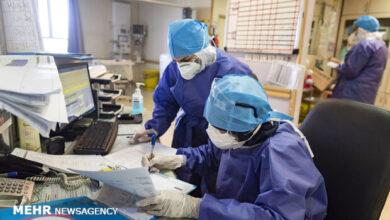 تصویر ۱۰۸۴ بیمار کرونایی در بیمارستان های مازندران بستری هستند