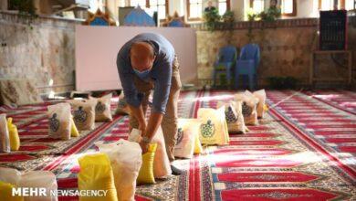 تصویر ۱۶ هزار بسته معیشتی بین نیازمندان استان سمنان توزیع شد
