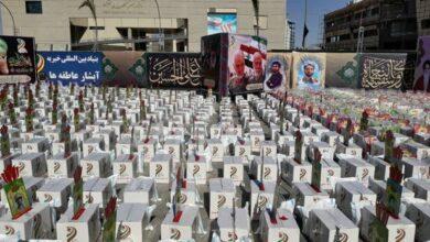 تصویر ۱۸ هزار بسته معیشتی در زنجان توزیع شده است