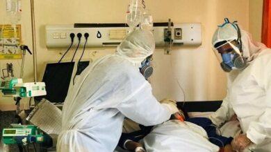 تصویر آمار بیماران بستری شده در آذربایجان غربی از مرز ۵۰۰ نفر گذشت