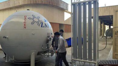 تصویر افزایش اکسیژن بیمارستان علی اصغر(ع) شیراز به بالاترین سطح استاندارد