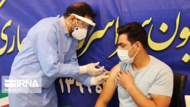 تصویر بازتاب آغاز واکسیناسیون کرونا در ایران در رسانههای چین