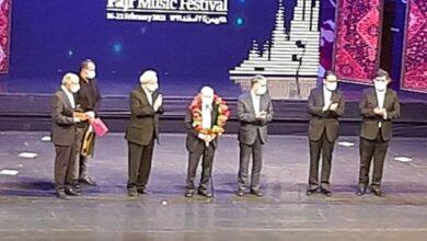 تصویر برگزیدگان سی و ششمین جشنواره موسیقی فجر معرفی و تجلیل شدند