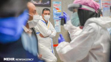 تصویر بستری ۱۲ بیمار جدید حاد تنفسی در منطقه کاشان / فوت ۲ نفر