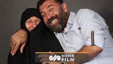 تصویر مادر علی انصاریان: برای پسرم دعا کنید