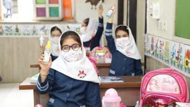 تصویر مدیران مدارس راز و جرگلان موظف به اجرای پروتکلهای بهداشتی هستند