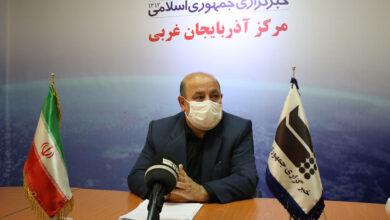 تصویر وضعیت کرونایی ۷ شهرستان آذربایجانغربی، نارنجی شد