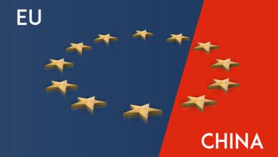 تصویر چین در سال ۲۰۲۰ اصلی ترین شریک تجاری اتحادیه اروپا بود