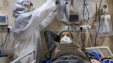 تصویر ۴۵۰ بیمار کرونایی در آذربایجانشرقی بستری هستند