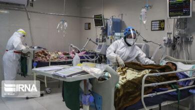 تصویر ۸۶ کرونایی در مرکزهای درمانی منطقه کاشان بستری هستند