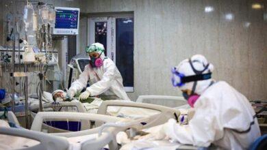تصویر ۹۶ کرونایی در مراکز درمانی کاشان و آران و بیدگل بستری هستند