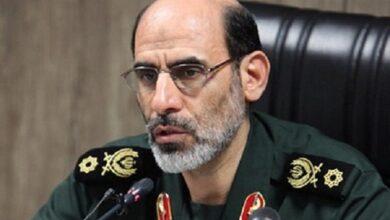 تصویر سردار سپهر فرمانده قرارگاه عملیاتی مقابله با کرونا شد
