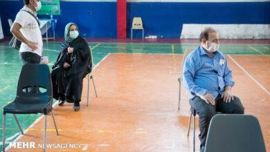 تصویر سومین مرکز تجمیعی واکسیناسیون سپاه اردبیل افتتاح شد