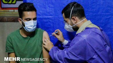 تصویر واکسیناسیون افراد بالای ۱۸ سال در سیستان وبلوچستان آغاز شد