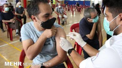 تصویر واکسیناسیون ۳۵ سالهها در هرمزگان آغاز شد