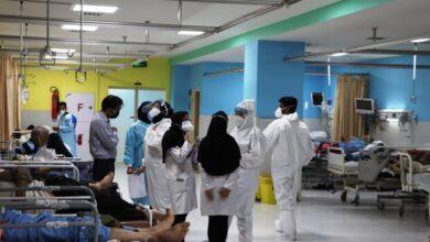 تصویر کاهش ۵۵ درصدی شمار بیماران کرونایی بستری در بیمارستان هاشمینژاد